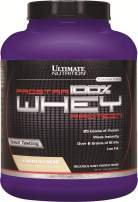 Ultimate Nutrition PROSTAR 100% Whey Protein Powder - Low Carb, Keto Friendly - 80 Servings, Vanilla Crème, 5.28 Pounds