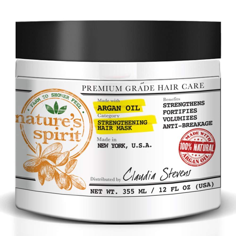 Nature's Spirit Argan Oil Hair Mask 12 ounce