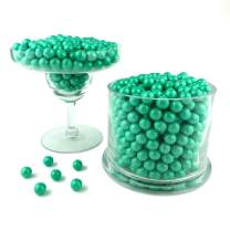 Color It Candy Shimmer Turquoise Sixlets 2 Lb Bag - Perfect For Table Centerpieces, Weddings, Birthdays, Candy Buffets, & Party Favors.