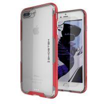 iPhone 8 Plus / 7 Plus Case, Ghostek Cloak 3 Series Slim TPU Ultra Durable Cover (Red)