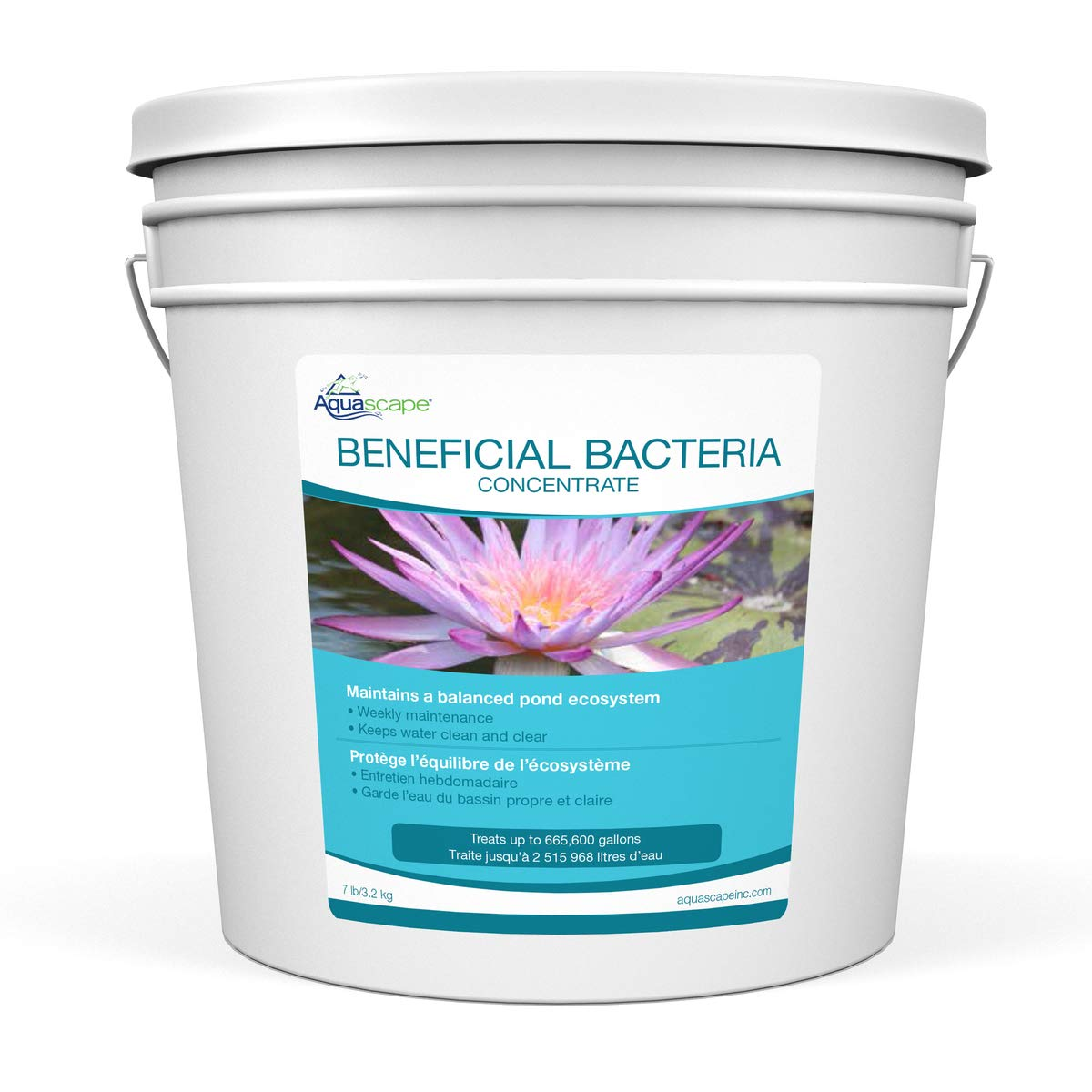 Aquascape Dry Beneficial Bacteria for Pond and Water Features, 7-Pound   98950