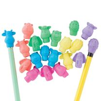 Zoo Animal Pencil Top Erasers - 144 per pack