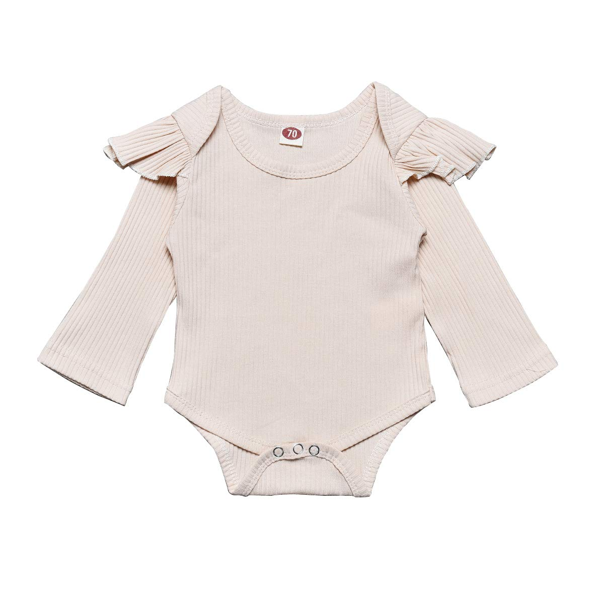 Willow Dance Newborn Baby Girl Boy Solid Romper Basic Plain One Piece Bodysuit Jumpsuit Outfits Clothes