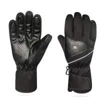 GMAYOO Winter Ski Gloves, Waterproof Warmest Snow Gloves for men women