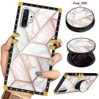 Luxury Square Phone Case iPhone 11 6.1 Inch 2019 Retro White Marble Design Elegant Soft TPU Design Cover