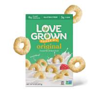 Love Grown Original Power O's, 8oz. Box, 6-pack