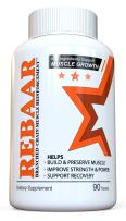 REBAAR - Best BCAA Muscle Supplement - Branched Chain Amino Acids Complex for Pre Workout Endurance, Post Workout Recovery, Muscular Building and Reinforcement