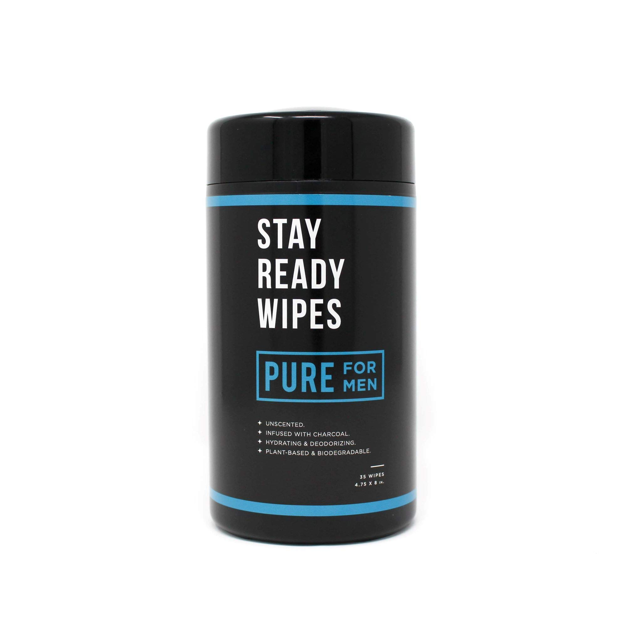 Stay Ready Wipes   Pure for Men's Stay Ready Collection