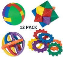 CUZAIL Party Favors -Fun Puzzle Balls -Party Toys Activities - Carnival Fun - Brain Teasers - Goody Bag Fillers- Party Toys - 12 Pack