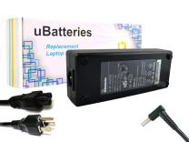 UBatteries Compatible 19.5V 120W AC Adapter Charger Replacement for HP TouchSmart OMEN Envy 15 17 Series Fits HP Spare Part# HSTNN-CA25 HSTNN-LA25 HSTNN-DA25
