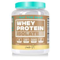 Eat the Bear, Whey Isolate Protein Powder, Keto Friendly Protein Powder, 100 Calories, All Natural, Gluten Free (25 Servings, Vanilla)