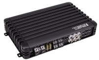 DS18 EXL-SQ320.4 High Efficiency Compact 320 Watts 4 Channel Luxury Multichannel Class D Full Range Sound Quality Amplifier