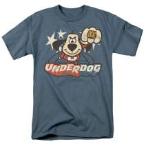 Popfunk Underdog Flying Logo Retro Cartoon T Shirt & Stickers