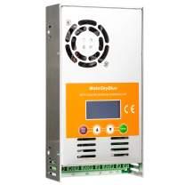 MakeSkyBlue 40A MPPT Charge Controller, Max Input 160V DC 1700W Solar Panel, LCD Display, Auto 12V/24V/36V/48V Battery System (40A-V118)
