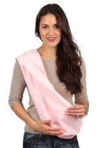HugaMonkey Cotton Baby Sling Wrap Carrier for Newborn Babies, Infants and Toddlers Upto 3 Years - Pink, Large