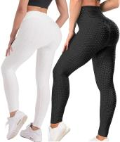 TIK Tok Leggings for Women Booty Lift Plus Size High Waisted Butt Lift Anti Cellulite Sexy Leggings Workout Sport Tights