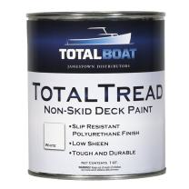 TotalBoat TotalTread Non Skid Deck Paint (White, Quart)