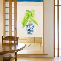 MR FANTASY Japanese Noren Doorway Curtain/Tapestry Blackout Door Durtain Panel Chinese Pattern 33''X47''