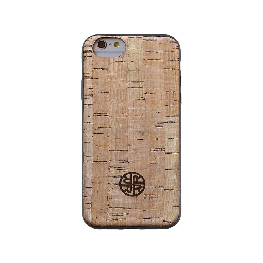 Reveal Wood Case Compatible with iPhone 6/6s - Real Cork Wood Case Shop - Natural Cork Leather, Eco-Friendly Design (Cork, 6/6s)