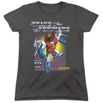 Transformers Starscream Women's T Shirt & Stickers