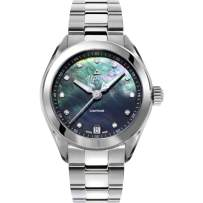Alpina Women's Alpiner Swiss Quartz Sport Watch with Stainless Steel Strap, Silver, 17 (Model: AL-240MPBD2C6B)