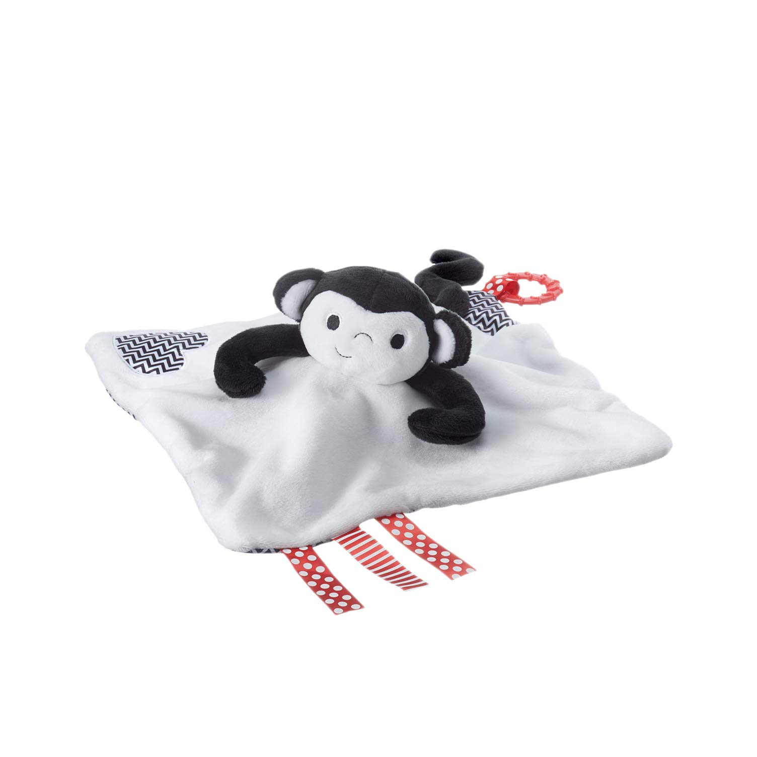 Tommee Tippee 3 in 1 Lovey, Soft Security Blanket, Teether and Puppet – Machine washable, Marco Monkey, 0+ months