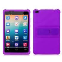 HminSen Lenovo TAB 4 8 Kids Case - Shock Proof Soft Silicone Kids Friendly Case for Lenovo TAB 4 8 TB-8504F TB-8504N Tablet,(NOT for Lenovo Tab E8 TB-8304F or Plus Model TB-8704) (Purple)