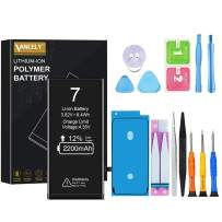 [2200mAh] Battery for iPhone 7, Vancely New 0 Cycle Higher Capacity Battery Replacement for iPhone 7 with Complete Professional Repair Tools Kits - 2 Year Warranty