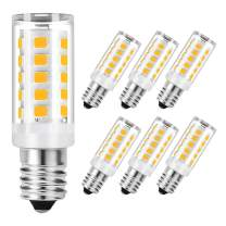 SumVibe E12 Candelabra Bulb 4W, 40W Equivalent E12 LED Bulbs, 350LM, Warm White 3000k Non-Dimmable Candle Base Corn Bulb for Ceiling Fan, Chandelier, 6-Pack