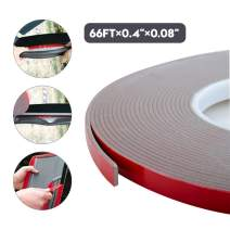 "Heavy Duty Mounting Tape, VHB Foam Tape, 3M Waterproof Double Sided Tape-for Home and Office Decorations, LED Strip Lights (66Ft x 0.4"" x 0.08"")"