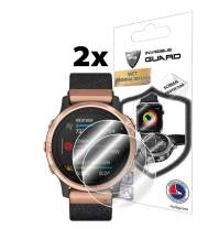 IPG for Garmin Fenix 6S / 6S Pro / 6S Sapphire Editions Watch Screen Protector (2 Units) Invisible Ultra HD Clear Film Anti Scratch Skin Guard - Smooth/Self-Healing/Bubble -Free