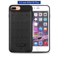 Mbuynow Battery Case for iPhone 8 Plus / 7 Plus / 6S Plus, 3700mAH Portable Charging Case External Rechargeable Charger Case Protective Power Case for iPhone 8 Plus / 7 Plus (5.5 inch)