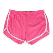 Yoga Gym Sport Shorts Workout Running Short Pants for Women No Drawstring Solid Color Dolphin Shorts