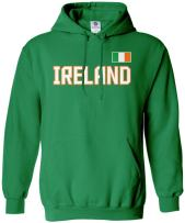 Threadrock Ireland National Pride Unisex Hoodie Sweatshirt