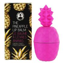 Rebels Refinery Rebel Rose Pink Pineapple-Shaped Lip Balm | Exotic Strawberry Mango Flavor | Nourish Chapped Lips with Coconut