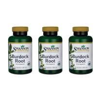 Swanson Burdock Root 460 mg 100 Caps 3 Pack