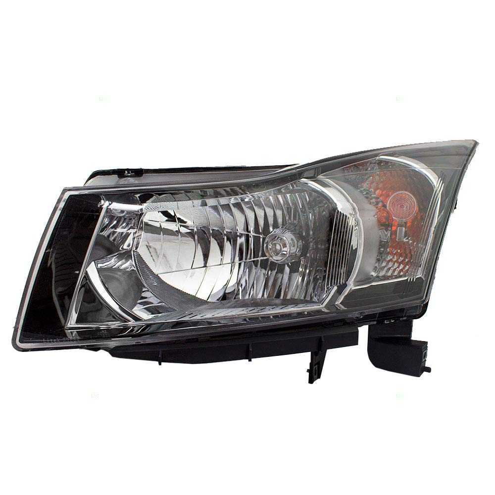 Replacement Driver Headlight w/Clear Signal Trim Compatible with 12-15 Cruze & 16 Cruze Limited 95291963
