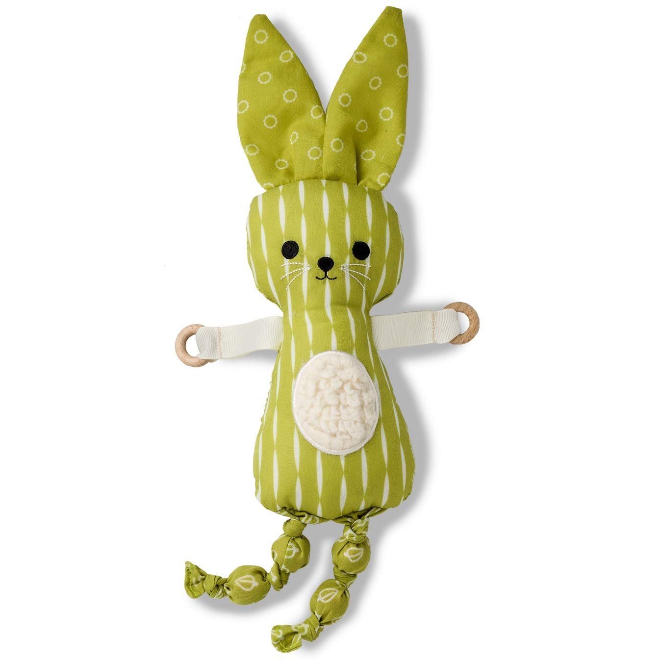 Do Dah Bunny, Cute Stuffed Animal for Boys and Girls, Plush Toy, Great Baby Gift at Next Baby Shower, Cute Nursery Decor Toy, Soft Sensory Baby Plush Toy