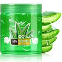 Aloe Vera Gel,2020 Aloe Vera Moisturizing Gel, Hydrating Skin Soothing Gel Aloe, Organic Aloe Vera Plant for Face, Body, Hair, Sunburn Relief, Bites, Sensitive Skin