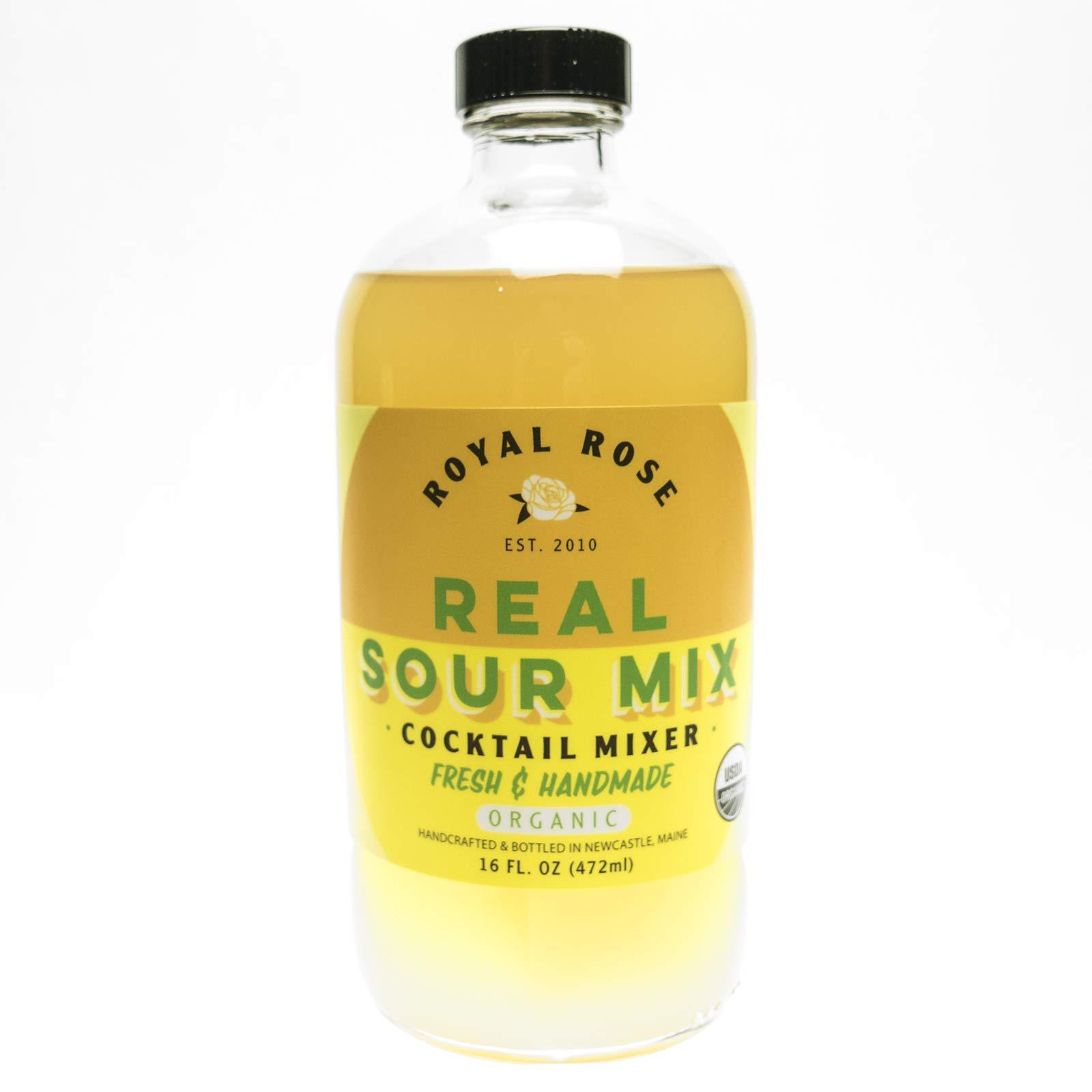 Royal Rose Organic Sour Mix, 16 Ounce