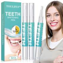 Teeth Whitening Gel,Teeth Whitening Pen,Teeth Whitening Kit,3 Pack Teeth Whitener Instant Painless for Sparkling White Teeth Whitening,Easy to Use,Travel friendly
