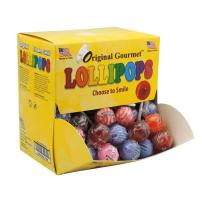 Original Gourmet Change Maker Mini Cream Swirl and Original Lollipops, 100 Count