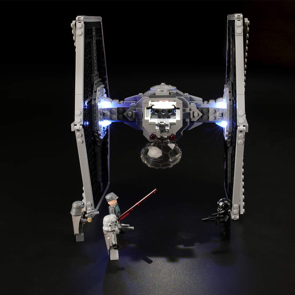 LIGHTAILING Light Set for (Star Wars Imperial TIE Fighter) Building Blocks Model - Led Light kit Compatible with Lego 75211(NOT Included The Model)