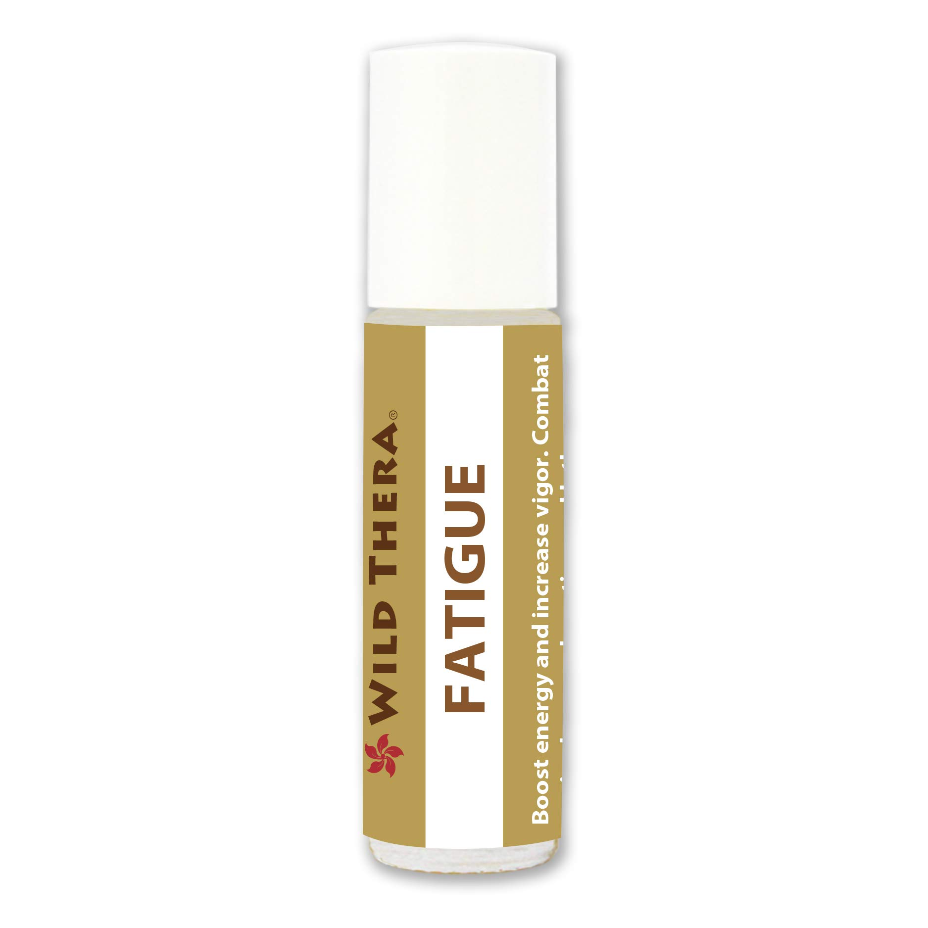 Wild Thera Fatigue Roll On Blend 10 ml. Aromatherapy for Chronic Tiredness, Dizziness, headaches, aching muscles, moodiness and irritability. Natural & Organic Ingredients. Portable & lightweight.