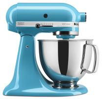 KitchenAid RRK150CL  5 Qt. Artisan Series - Crystal Blue (Renewed)