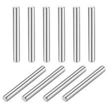 """uxcell 1.5 x 16mm(Approx 1/16"""") Dowel Pin 304 Stainless Steel Wood Bunk Bed Dowel Pins Shelf Pegs Support Shelves 10Pcs"""