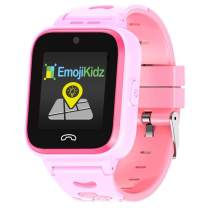 2020 Model 4G Kids Smartwatch Preinstalled SpeedTalk SIM Card GPS Locator 2-Way Face to Face Call Voice & Video Camera SOS Alarm Remote Monitoring Worldwide Coverage in 200 Countries [Ages 4-12] Pink
