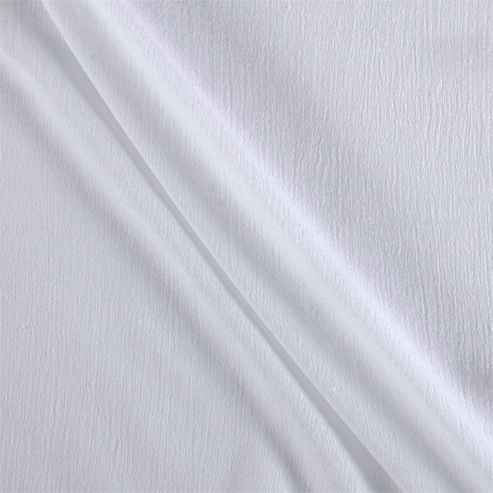 Ben Textiles Island Breeze Gauze White Fabric By The Yard
