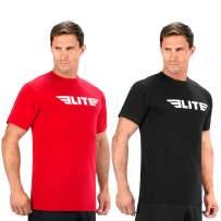 Elite Sports Gym Workout Athletic fit T-Shirt T-Shirts for Men Crossfit Training MMA BJJ