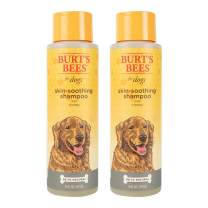 Burt's Bees for Pets Dogs Natural Skin Soothing Shampoo with Honey | Puppy and Dog Shampoo, 16 Ounces - 2 Pack